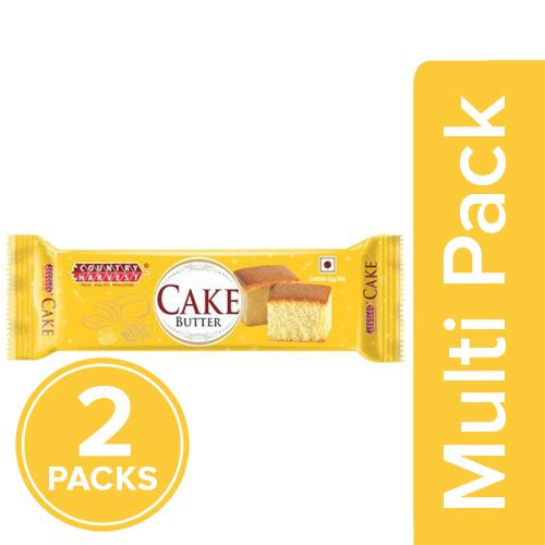 Country Harvest Bar Cake - Butter Sponge, 2x50 g Multipack