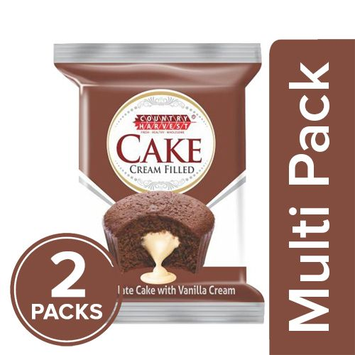 Country Harvest Cake - Chocolate, Cream Filled, 2x20 g Multipack