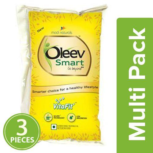 Oleev Smart Oil, 3x1 lt Multipack
