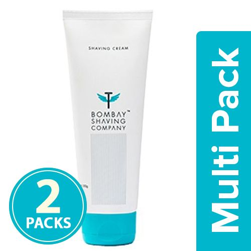 Bombay Shaving Company Cream - Shaving, 2x100 g Multipack