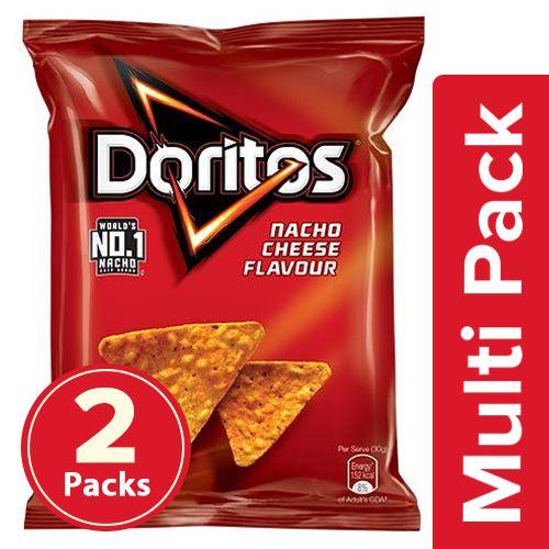 Doritos Nacho Cheese, 2x150 g Multipack