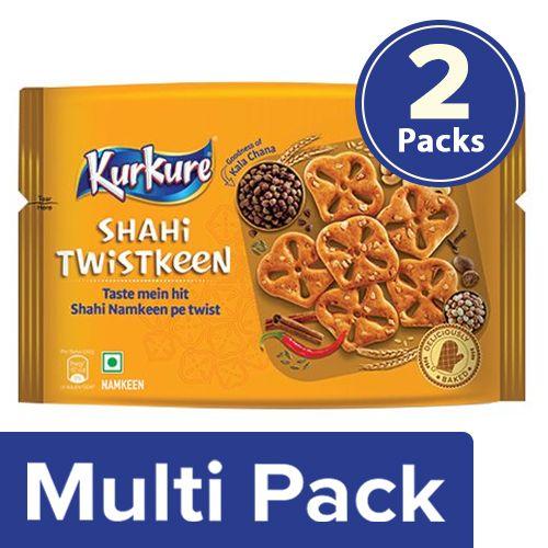 Kurkure Shahi Twistkeen, 2x86 g Multipack