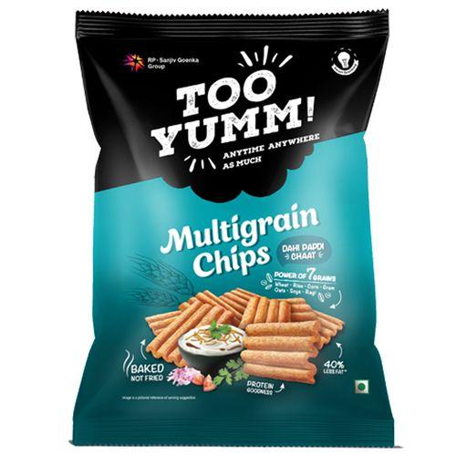 Too Yumm! Multigrain Chips - Dahi Papdi Chaat, 6x28 g Multipack