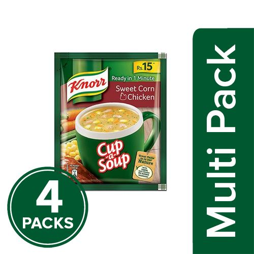 Knorr Chicken Soup - Sweet Corn, 4x42 g Multipack