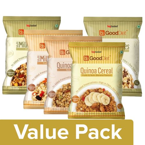 Buy Good Diet Healthy Quinoa Millets Breakfast Cereals Online At
