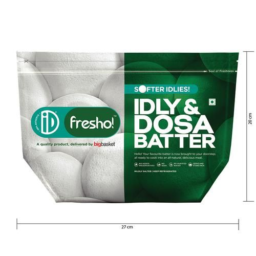 iD Fresho Idly Dosa Batter, 2x1 kg Multipack