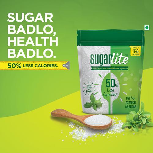 Sugarlite 50% Less Calories Sugar, 2x500 g Multipack