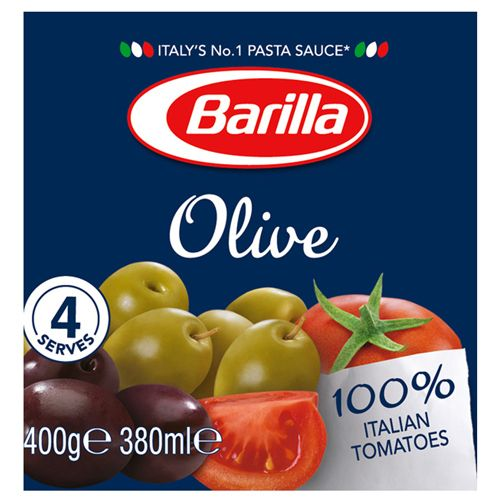 Barilla Pasta Sauce - Olives, 400 g Jar