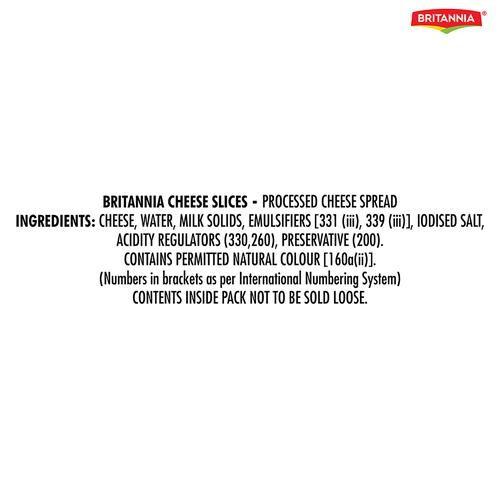 Britannia Cheese Slices, 200 g (10 Slices)