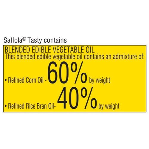 Saffola Tasty - Pro Fitness Conscious Edible Oil, 5 L Pet Jar