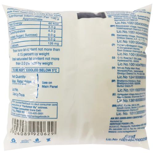 Heritage Curd -Total, 450 g Pouch