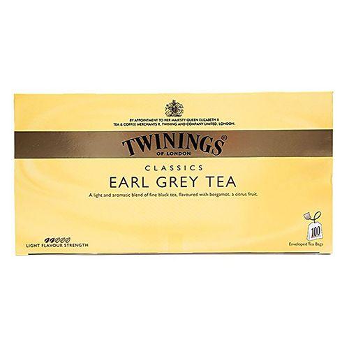 Twinings Earl Grey Tea, 100 Bags x 2 gm, Each 200 gm
