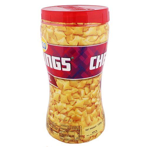 Parle Monaco Cheeslings - Classic, 150 g Jar