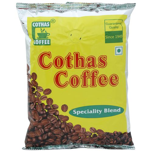 Cothas Coffee Coffee - Powder, Speciality Blend of Coffee & Chicory Powder, 500 g Pouch