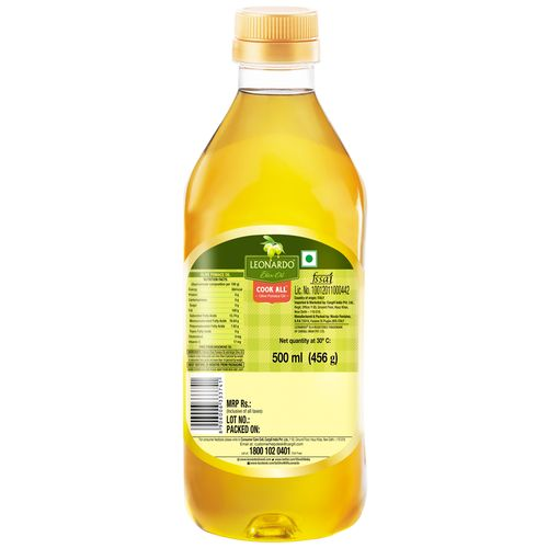 Leonardo Olive Oil - Pomace, 500 ml Bottle