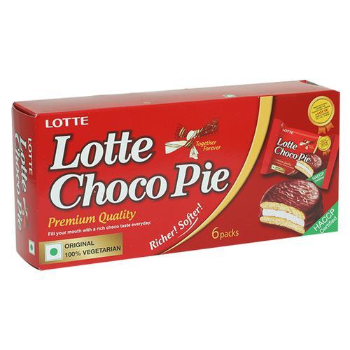 Lotte Choco - Pie, 168 g Pack of 6
