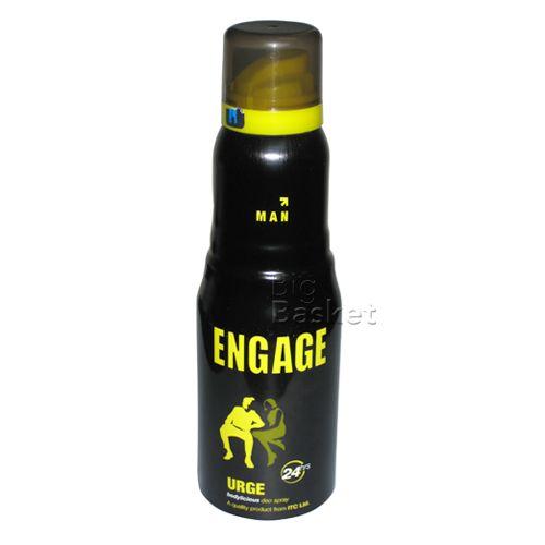 Engage Bodylicious Deodorant Spray - Urge (For Men), 150 ml