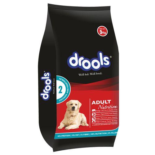 Buy Drools Dog Food 100 Vegetarian Adult 3 Kg Online At Best Price Bigbasket
