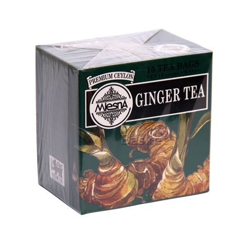 Mlesna Tea Bags - Ginger, 10 Bag x 1.5 gm Each 15 gm