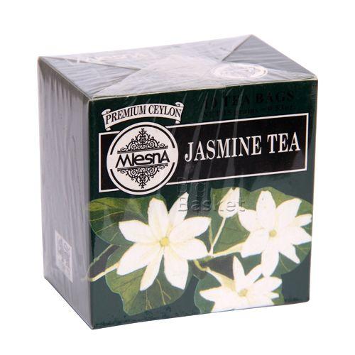 Mlesna Tea Bags - Jasmine, 10 Bag x 1.5 gm Each 15 gm