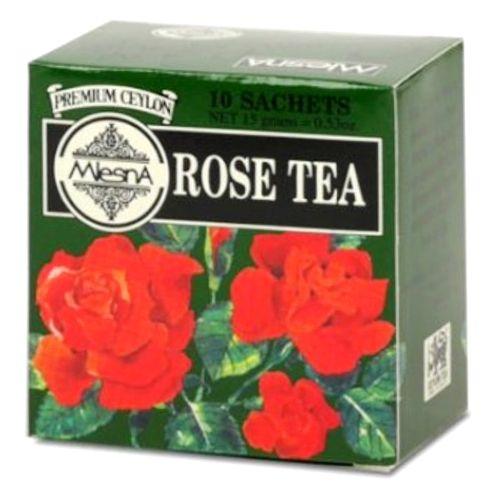 Mlesna Tea Bags - Rose, 10 Bag x 1.5 gm Each 15 gm