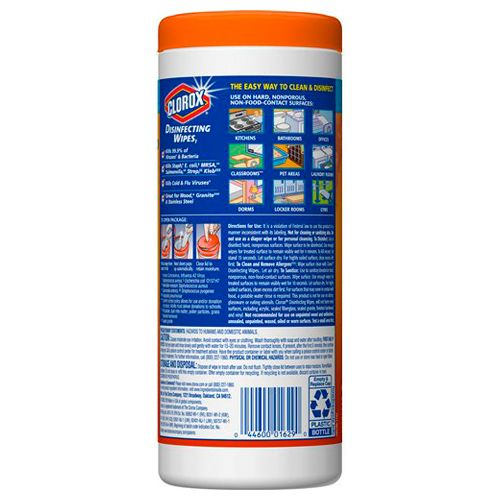 Clorox Disinfecting Wipes - Orange Fusion, 35 pcs