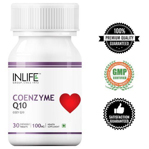 Inlife Cozy Q10 - Coenzyme Q10, 30 pcs Bottle