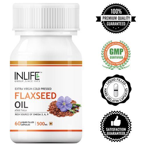 Inlife Omega - 3,6,9 (Liquid Filled Capsules), 60 pcs Bottle