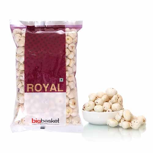 Buy Bb Royal Phool Makhana 100 Gm Online Now From Rs 120