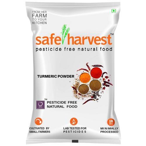 Safe Harvest Turmeric Powder/Arisina Pudi - Pesticide Free, 200 g