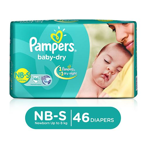 Pampers Baby Dry Diapers Small 22 Pcs Buy Online At