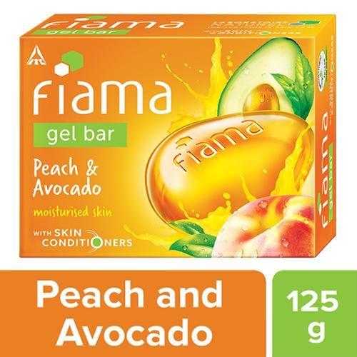 Fiama Gel Bathing Bar - Peach & Avocado, 125 g
