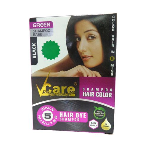 Buy Vcare Shampoo Hair Colour Black 25 Ml Online At The Best Price Bigbasket