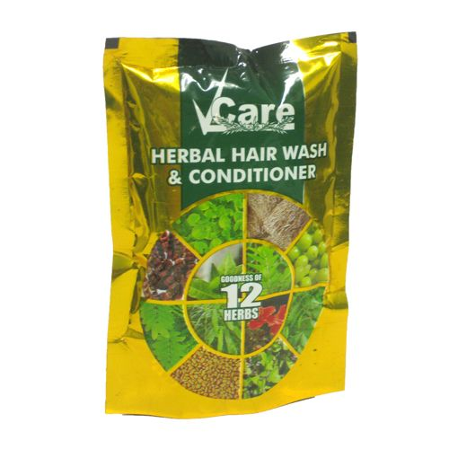 Vcare  Herbal - Hair Wash & Conditioner, 100 g