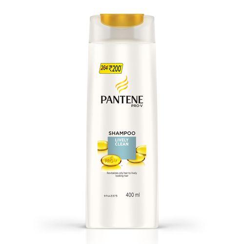 Pantene Shampoo - Lively Clean 675 ml Bottle: Buy online ...