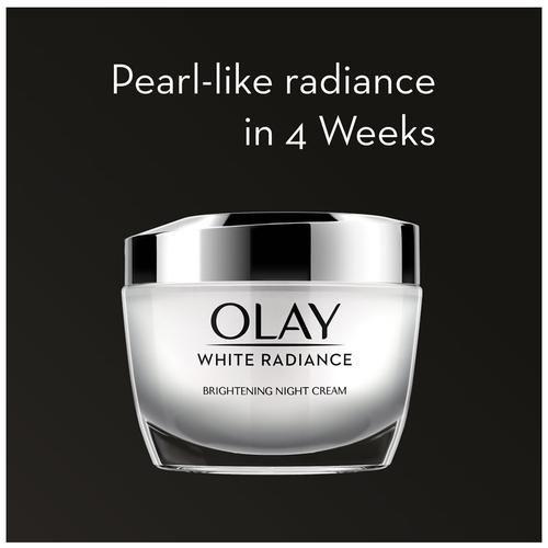 Olay White Radiance - Advanced Fairness Night Skin Cream Moisturiser, 50 g