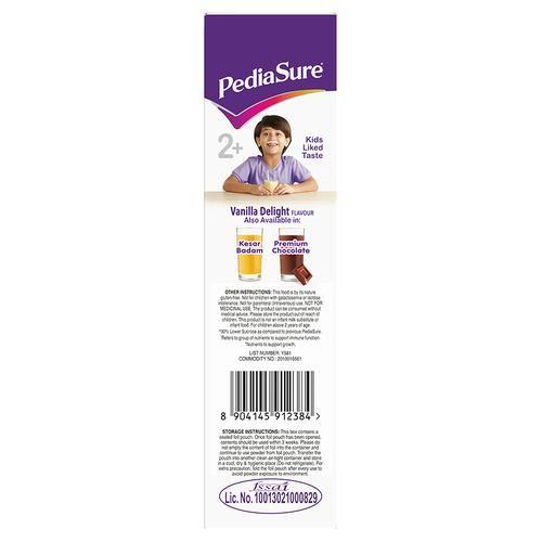 Pediasure Nutritional Powder - Complete & Balanced, Vanilla Delight, 400 g Carton
