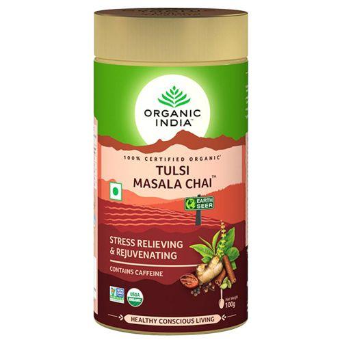 ORGANIC INDIA Chai - Masala, Tulsi, 100 gm