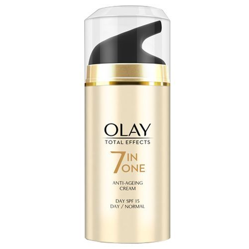 Olay Total Effects 7-In-1 - Anti-Ageing Skin Cream Moisturizer, Normal SPF15, 20 g