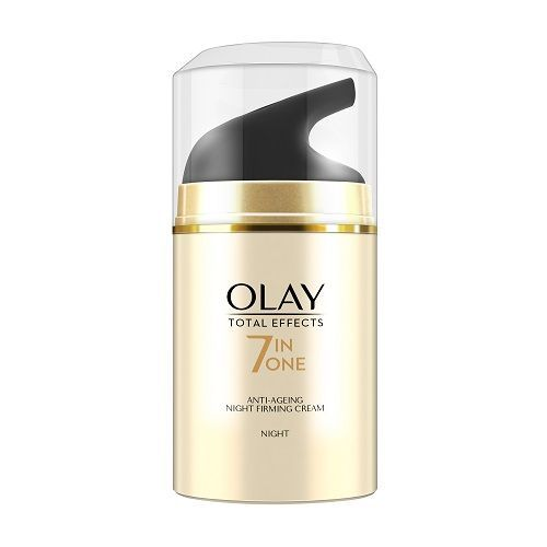 Olay Total Effects 7-In-1 - Anti-Ageing Night Skin Cream Moisturizer, 50 g