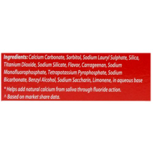Colgate Toothpaste - Strong Teeth, Anti-Cavity, 150 g