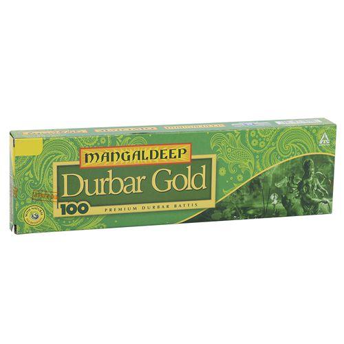 Mangaldeep Durbar Gold - Premium Durbar Battis, 80 Sticks Pouch