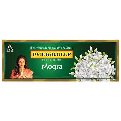 Mangaldeep Puja Agarbatti - Mogra, 130 pcs Carton