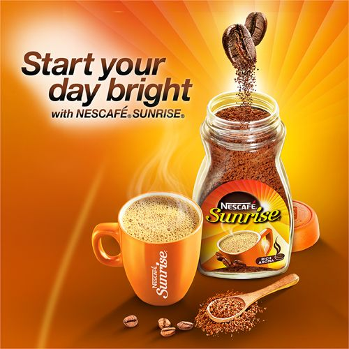 Nescafe  Sunrise Coffee, 100 gm Get Free Coffee Mug