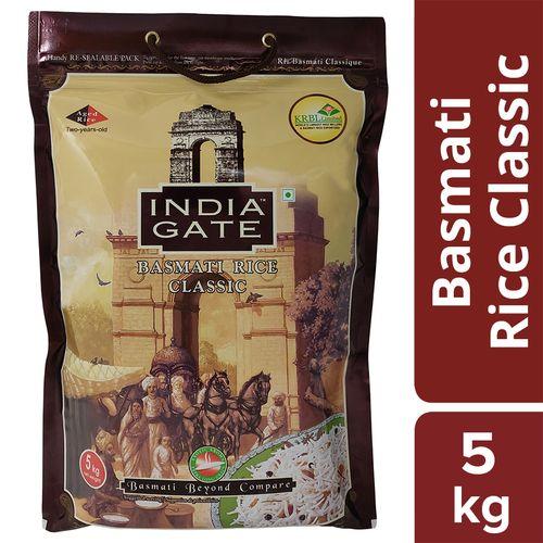 Buy India Gate Basmati Rice Classic 5 Kg Bag Online At