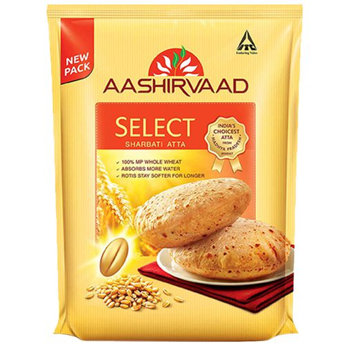 Aashirvaad Atta - Select, 5 kg Pouch