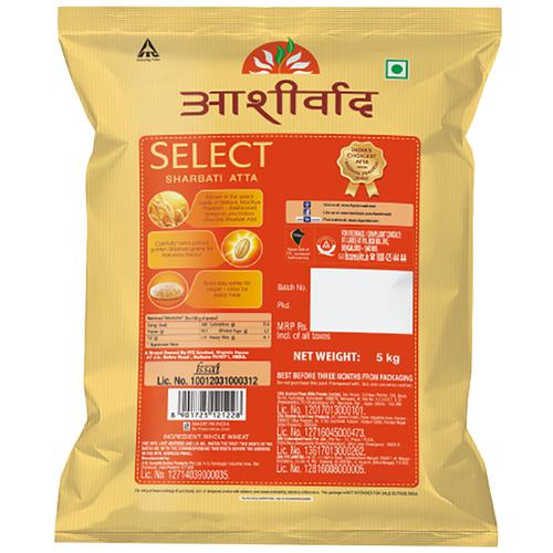 Aashirvaad Select Atta, 5 Kg Pouch