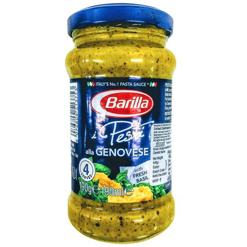 Buy Barilla Pasta Sauce Pesto Genovese 400 Gm Jar Online At The Best Price Bigbasket