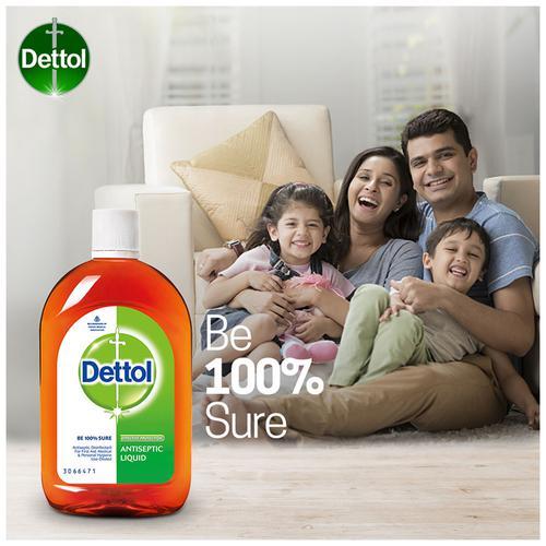 Dettol Antiseptic Disinfectant Liquid, 550 ml