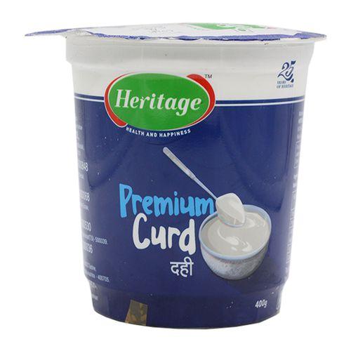 Heritage Curd - Premium, 400 g Cup